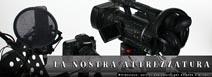 Attrezzatura professionale audio, fotografica e video usata da Videoluce